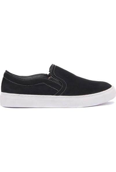 Sail Laker's Moxee Siyah Keten Kadın Günlük Ayakkabı