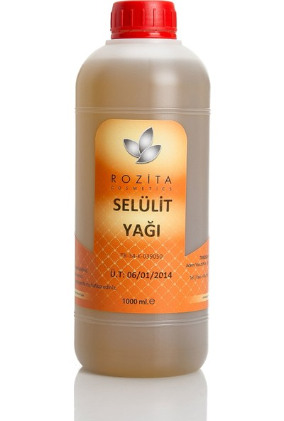 Rozita Cosmetics Selülit Yağı 1000 ml