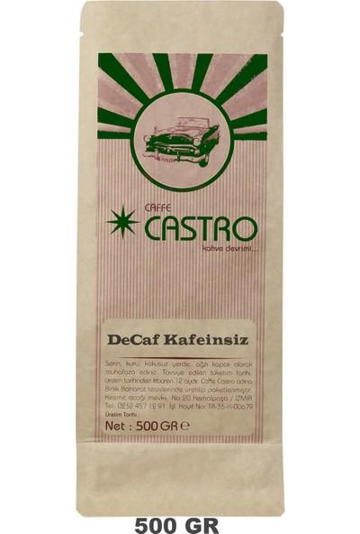 Castro Decaf Kafeinsiz Çekirdek Kahve 500 gr