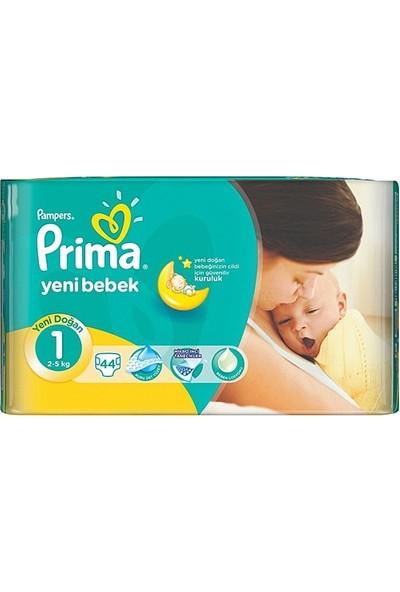 Prima Yenidoğan 1 Numara 2-5 Kg 45 Adet Bebek Bezi