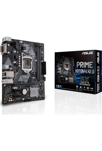Asus Prime H310M-K R2.0 Intel H310 2666MHz DDR4 Soket 1151 mATX Anakart