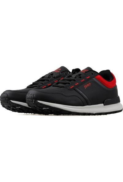 Jump Erkek Günlük Ayakkabı 19937-B-Black-Red