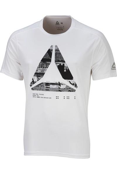 Reebok Beyaz Erkek Tişörtü Cy4883