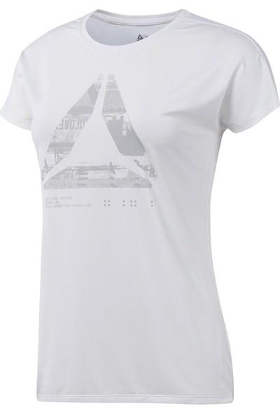 Reebok Beyaz Kadın Tişörtü D93867