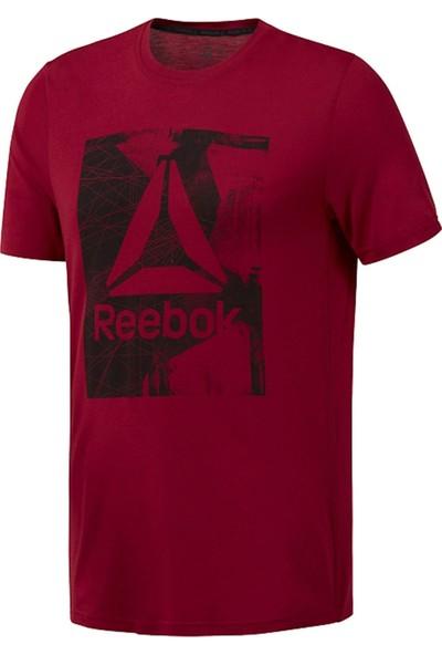 Reebok Kırmızı Erkek Tişörtü D94258