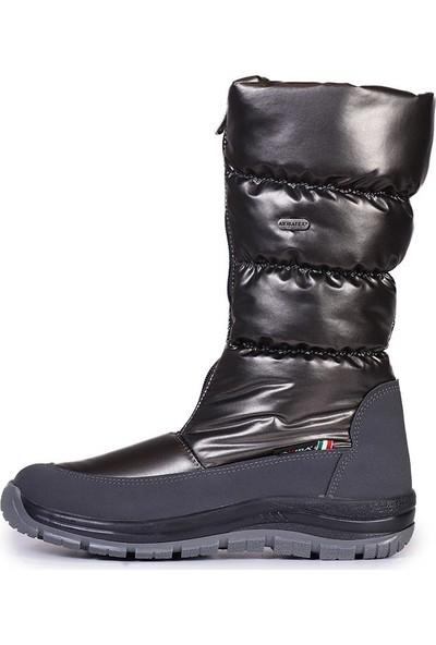Attiba 80800/L Gun Metal Grey 80800/L Balt Nıcola Kışlık Bot Ayakkabı