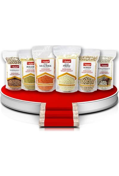 Kuzeyli Gıda Bakliyat Lezzet Paketi 6'Lı