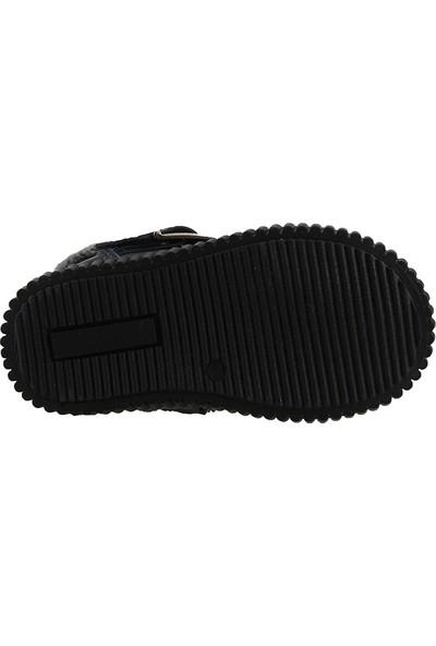 Pinokyo 9063 Lacivert Termal Kürklü Kız Çocuk Bot Ayakkabı