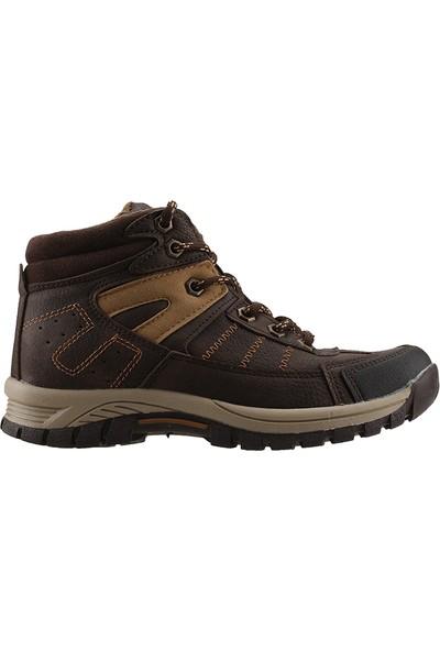 Piamond 10022 Kahverengi Günlük Yürüyüş Erkek Çocuk Spor Bot Ayakkabı