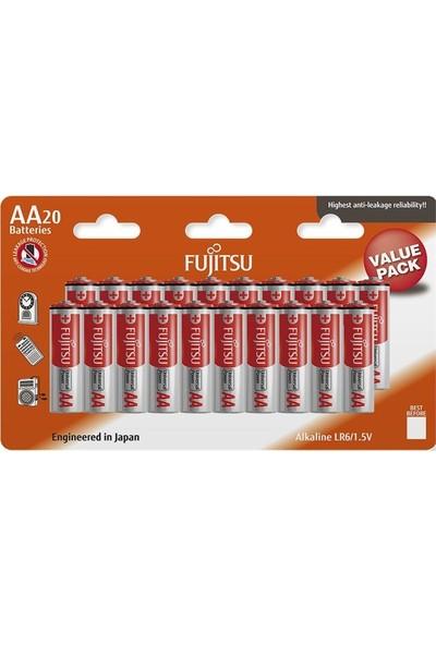 Fujitsu Universal Power Lr06 Alkaline Kalem Aa Size Pil 20Li Blister