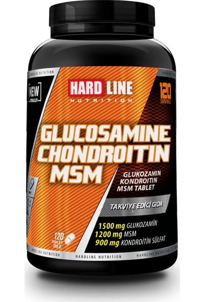 Hardline Glucosamıne Chondroıtıne Msm 120 Tablet