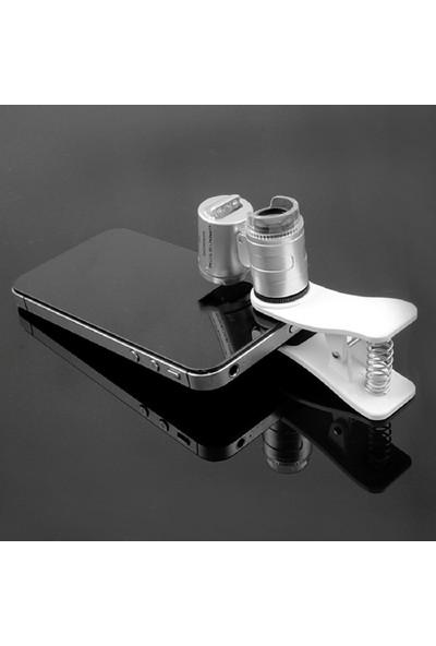 Makroptik 60x Cebe Takılabilir Cep Mikroskobu