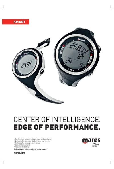 Mares Pure Instinct Smart Apnea Dalış Bilgisayarı Turuncu/Siyah