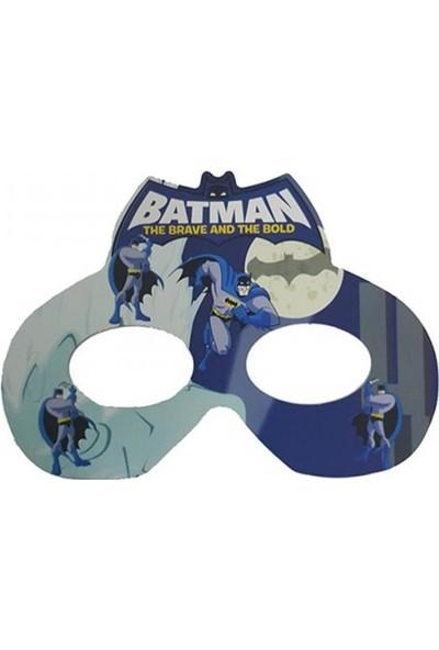 Parti Dolabı 6 Adet Batman Karton Gözlük Erkek Doğum Günü Parti Malzemesi
