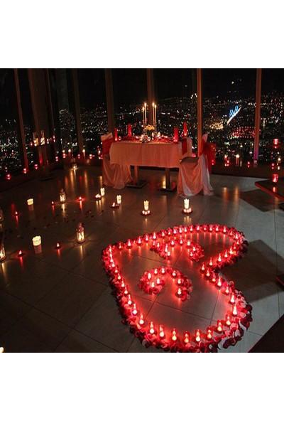 Parti Dolabı Eşime Kocama Evlilik Yıldönümü Sürprizi Romantik Yıl Dönümü Set