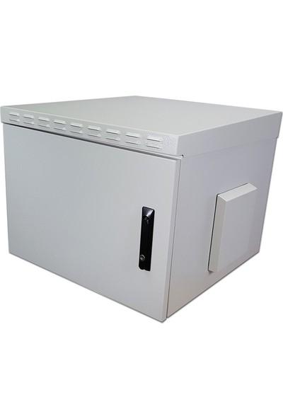 Lande Safebox Serisi 7U 19'' Safebox Ip55 Harici Ortam ( Outdoor) Duvar Tipi Kabinet W=600Mm D=600Mm