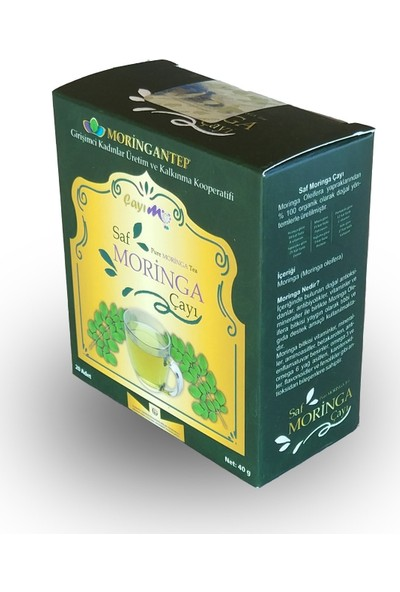 Moringantep Moringa Çayı 20'li Süzen Poşet