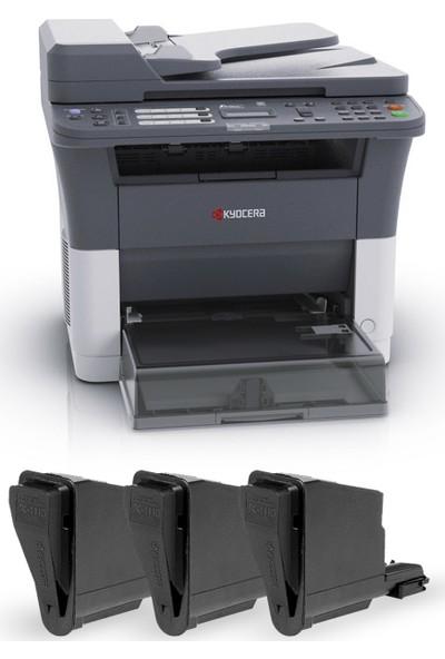 Kyocera Fs 1125Mfp 3 Adet Muadil+1 Adet (10.000 Sayfalık Toner) Laser Yazıcı