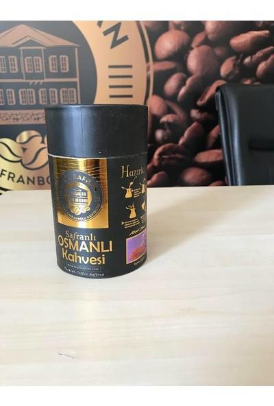 Safranlı Dibek Kahvesi Silindir Kutu 250 gr