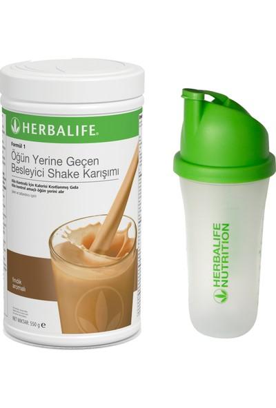 Herbalife Fındıklı Shake 550G + Shaker