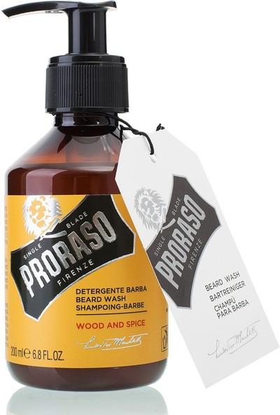 Proraso Sakal Şampuanı Wood Spice 200 ml
