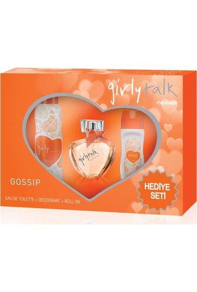 Girly Talk Gossıp Edt 100 ml + Deodorant 150 ml Set