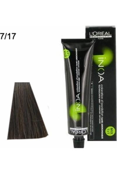 L'Oréal Professionnel İnoa No:7,17 Saç Boyası 60 gr
