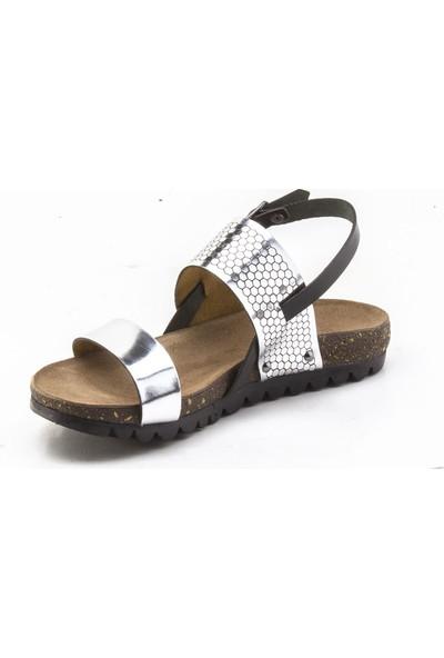 Hush Puppies July Jade Gümüş Kadın Sandalet