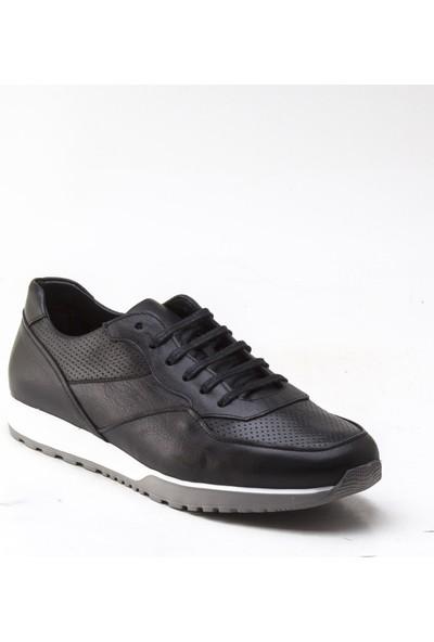 Yeşil Kundura 2433 Siyah Erkek Sneaker