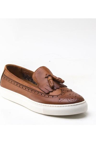 Yeşil Kundura 2454 Taba Erkek Sneaker
