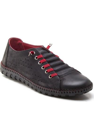 Yeşil Kundura 31503 Siyah Erkek Sneaker
