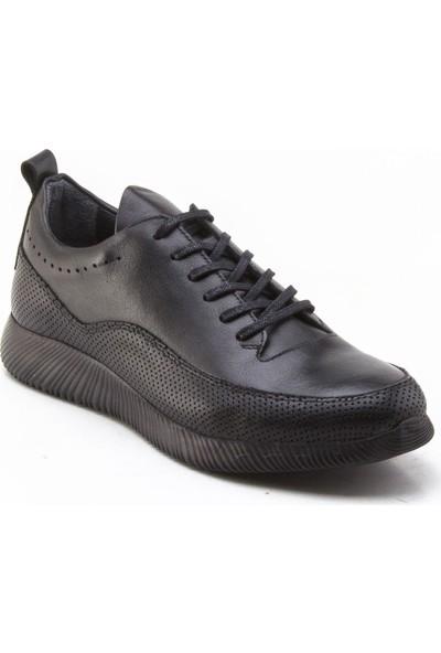 Yeşil Kundura 2506 Siyah Erkek Sneaker