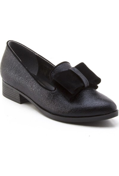 Yeşil Kundura Ds8401 Siyah Kadın Ayakkabı