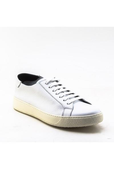 Yeşil Kundura 2458 Beyaz Erkek Sneaker