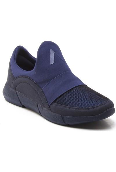 Yeşil Kundura 2014 Lacivert Erkek Sneaker