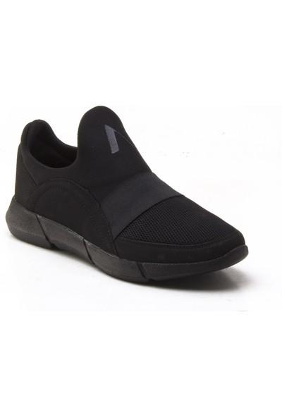 Yeşil Kundura 2014 Siyah Erkek Sneaker