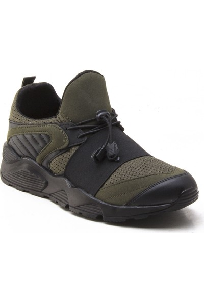Yeşil Kundura 2018 Haki Erkek Sneaker