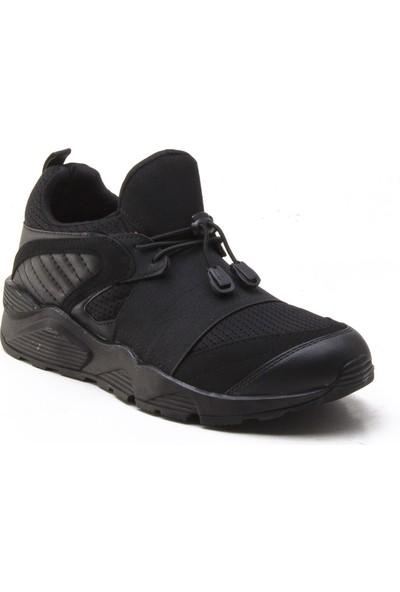 Yeşil Kundura 2018 Siyah Erkek Sneaker
