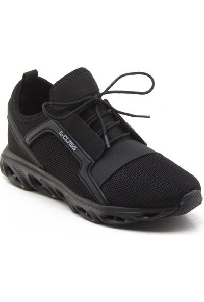 Yeşil Kundura 304 Siyah Erkek Sneaker