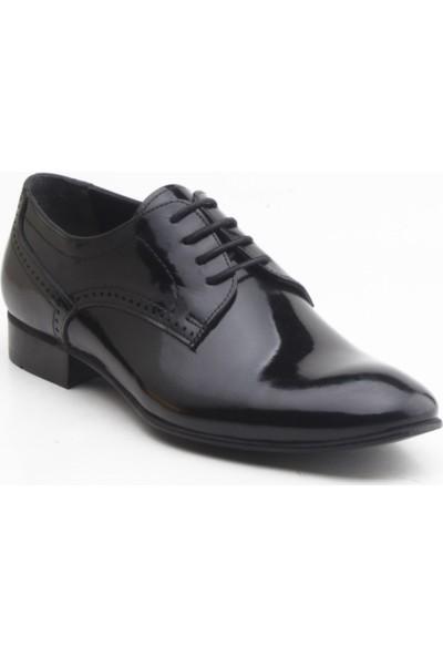 Depos 113 Erkek Klasik Bağçıklı Ayakkabı Siyah