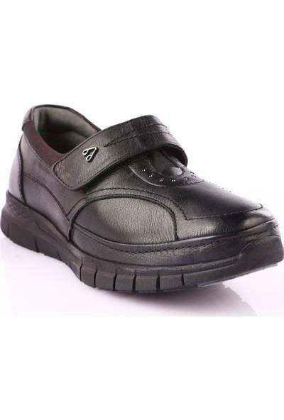 Forelli 29445 Kadın Cırtlı Casual Ayakkabı Siyah