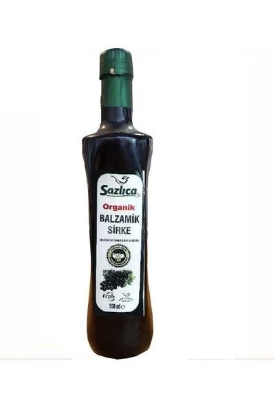 Sazlıca Organik Balsamik Sirke 500 ml