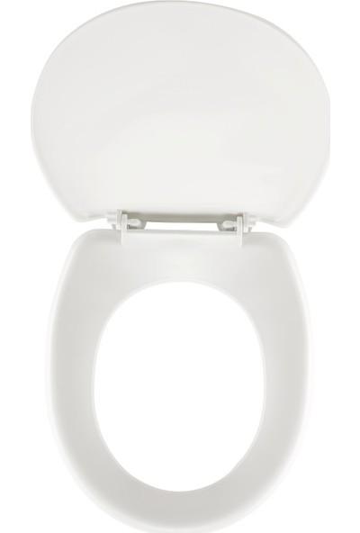 Rona Tuna Thermoplast Standart Klozet Kapağı Beyaz