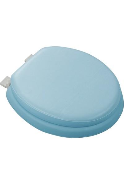 Softy Comfort Lüks Süngerli Klozet Kapağı Mavi