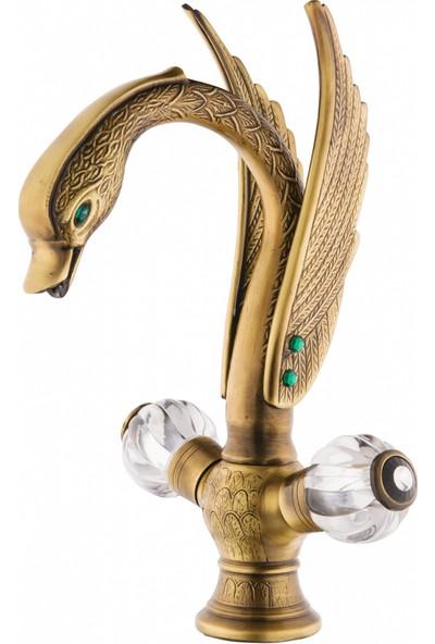 Aquamix Ottoman Eskitme Lavabo Bataryası