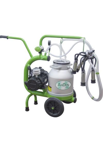 Arden Tek Sağım - Mini C Model - Alüminyum Süt Sağım Makinesi