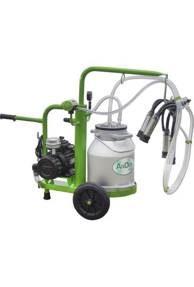 Arden Tek Sağım - Mini - Alüminyum Süt Sağım Makinesi