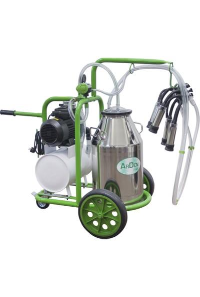 Arden Tek Sağım - Tanklı - Paslanmaz Süt Sağım Makinesi