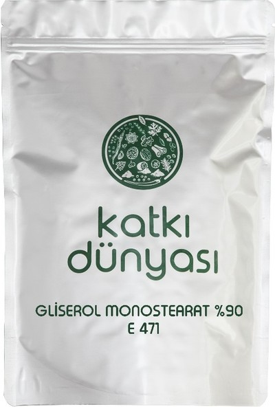 Katkı Dünyası Gliserol Monostearat %90 E471 100 gr