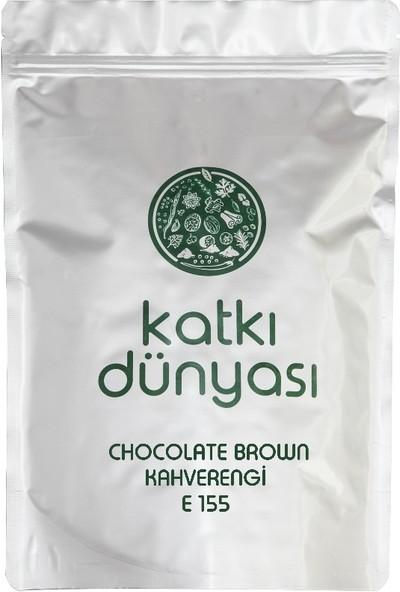 Katkı Dünyası Chocolate Brown (Kahverengi) E155 (Toz Gıda Boyası) 50 gr
